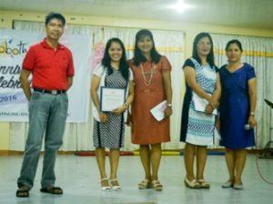 Mary graduating